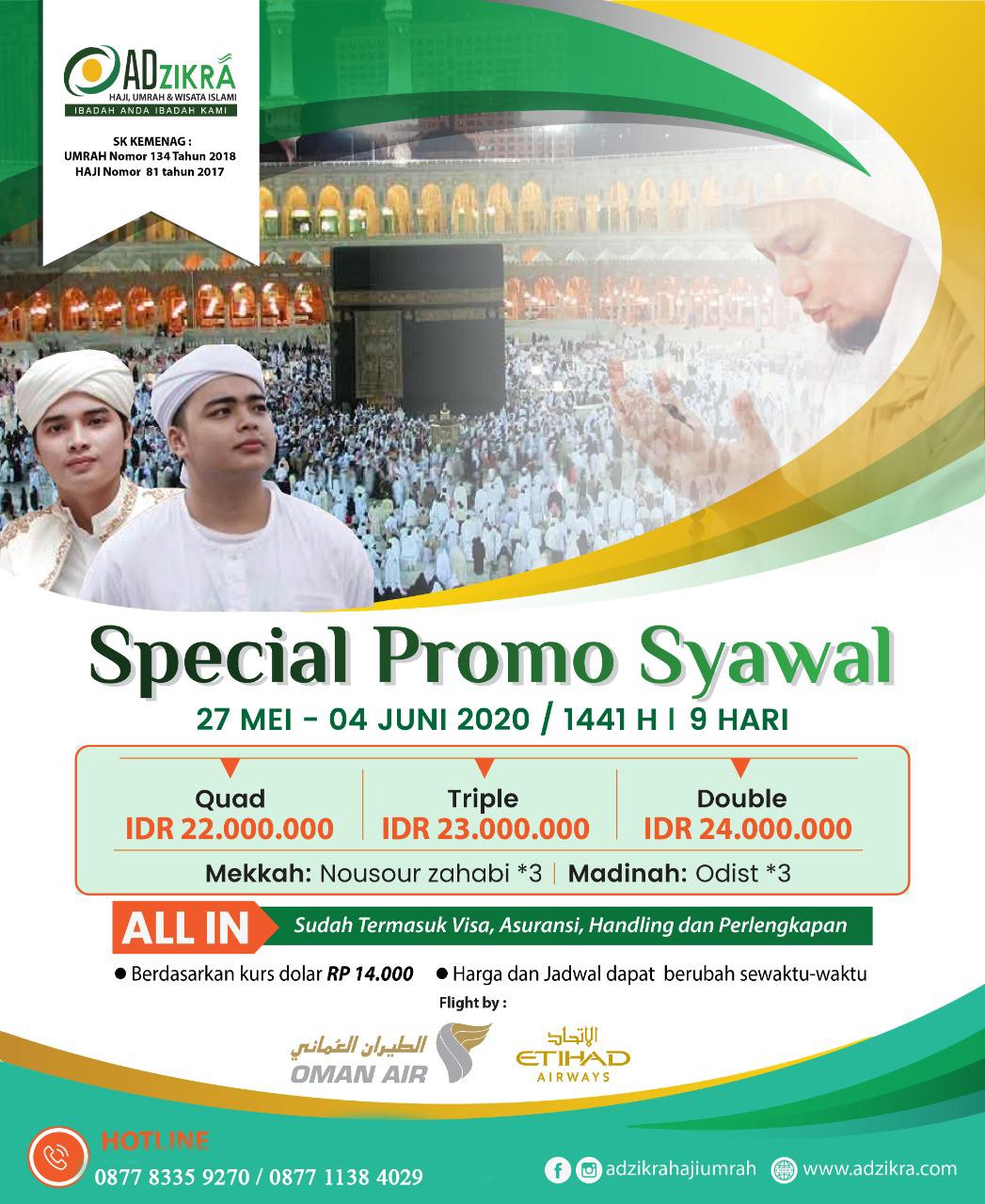 SPECIAL PROMO SYAWAL